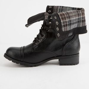 Flannel Boots